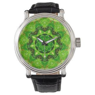 Reloj De Pulsera Fractal espinoso lindo del cactus