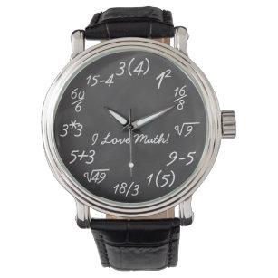 Reloj De Pulsera Friki divertido de la matemáticas