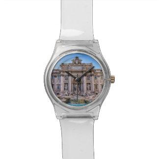Reloj De Pulsera Fuente del Trevi, Roma, Italia