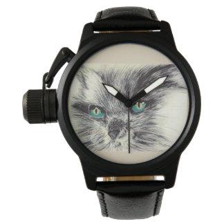 Reloj De Pulsera Gato