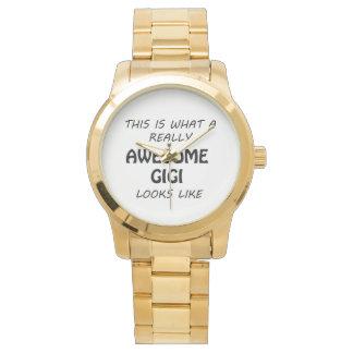 Reloj De Pulsera Gigi impresionante