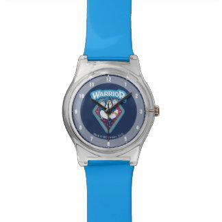 Reloj De Pulsera Gráfico del guerrero de la Mujer Maravilla