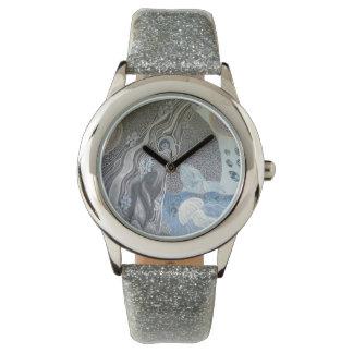 Reloj De Pulsera Gris de la ballena