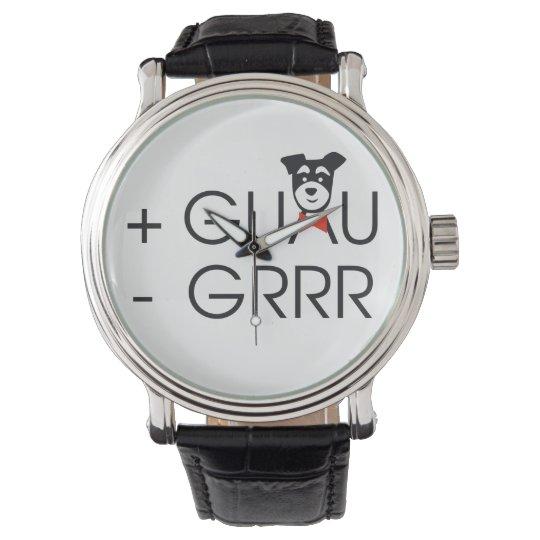 Reloj De Pulsera + Guau - Grr