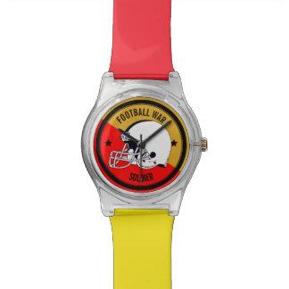 Reloj De Pulsera Guerrero del fútbol