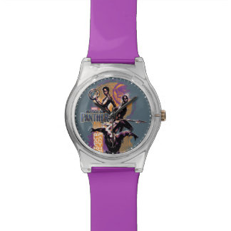 Reloj De Pulsera Guerreros de la pantera negra el | Wakandan