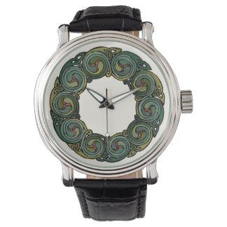 Reloj De Pulsera Guirnalda céltica