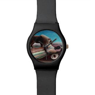Reloj De Pulsera Henri Rousseau el vintage gitano el dormir