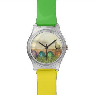 Reloj De Pulsera Huevos coloridos para pascua - 3D rinden