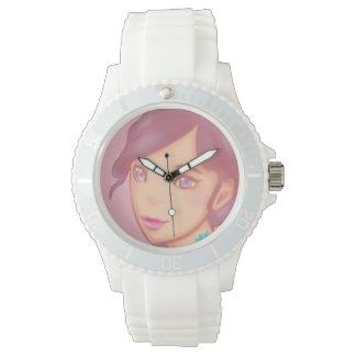 Reloj De Pulsera Humor en colores pastel