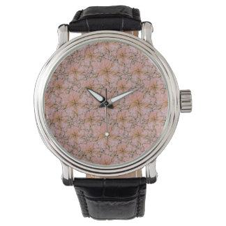 Reloj De Pulsera Impresión del collage de la naturaleza