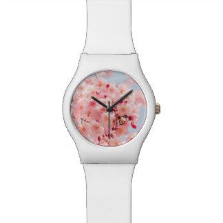 Reloj De Pulsera Japonés Sakura. Flores de cereza