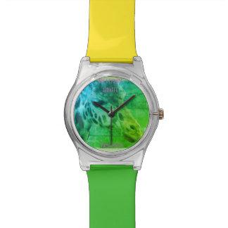 Reloj De Pulsera jirafa del prettyrude del parque zoológico de