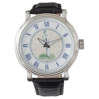 Reloj De Pulsera Jugador de tenis con monograma del vintage