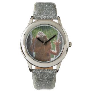 Reloj De Pulsera La impresión barbuda más linda del dragón