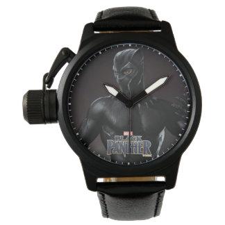 Reloj De Pulsera La pantera negra el | agarra hacia fuera