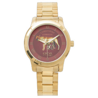 Reloj De Pulsera Lobo de Capitoline