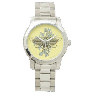 Reloj De Pulsera Logotipo de la abeja reina de la Mujer Maravilla
