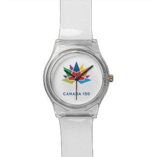 Reloj De Pulsera Logotipo del funcionario de Canadá 150 -