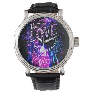 Reloj De Pulsera Los que nos aman en invierno Amethyst soñan