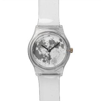 Reloj De Pulsera Luna Llena Supermoon brillante de la luna