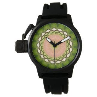 Reloj De Pulsera Mandala de la tranquilidad y de la paz