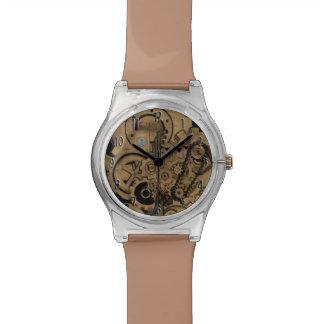 Reloj De Pulsera Maquinaria de Steampunk (de latón)