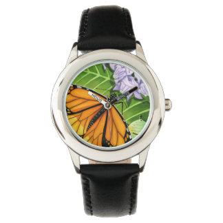 Reloj De Pulsera Mariposa de monarca