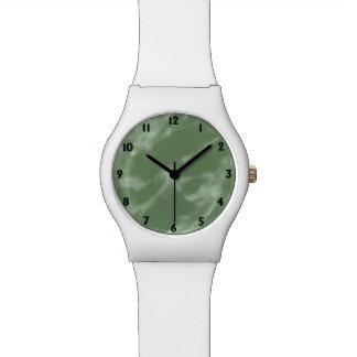 Reloj De Pulsera Mármol verde