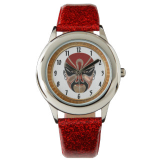 Reloj De Pulsera Máscaras faciales de la ópera de Pekín en design5