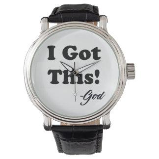 Reloj De Pulsera Mensaje de dios