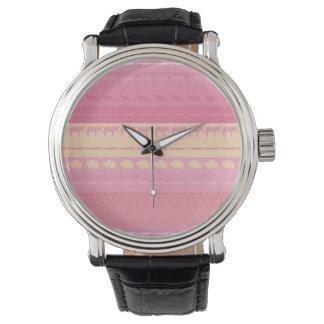 Reloj De Pulsera Modelo colorido retro #4 de los animales
