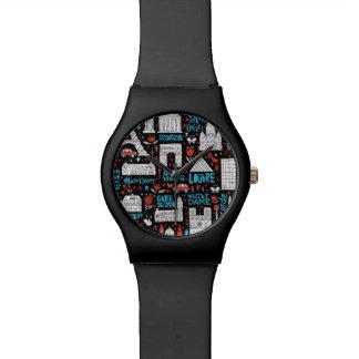 Reloj De Pulsera Modelo de los símbolos de Francia el |
