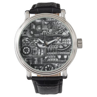 Reloj De Pulsera modelo del mecanismo del dibujo animado de la