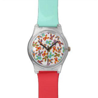 Reloj De Pulsera Modelo psico de Pascua colorido
