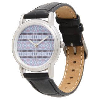 Reloj De Pulsera Modelo tribal de lujo de la frontera