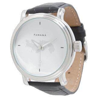 Reloj De Pulsera Moderno: Mapa de Panamá