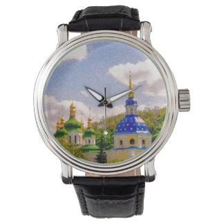 Reloj De Pulsera Monasterio de Vydubitsky. Kiev, Ucrania