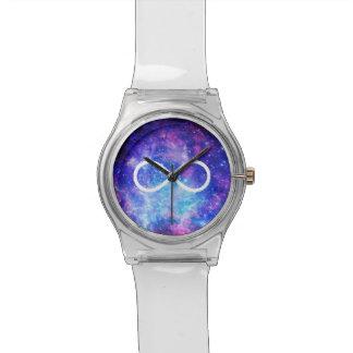 Reloj De Pulsera Nebulosa del símbolo del infinito