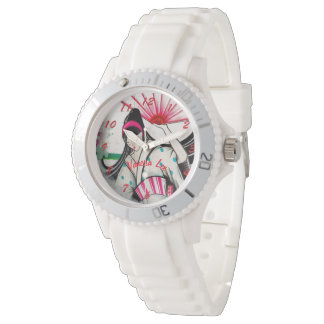 Reloj De Pulsera Nombre a su geisha japonés