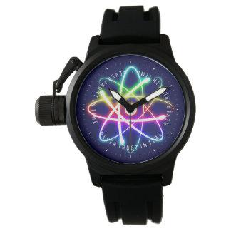 Reloj De Pulsera Nunca confíe en a tiempo los regalos divertidos de