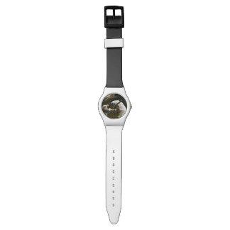 Reloj De Pulsera Oso polar que come la fruta en agua