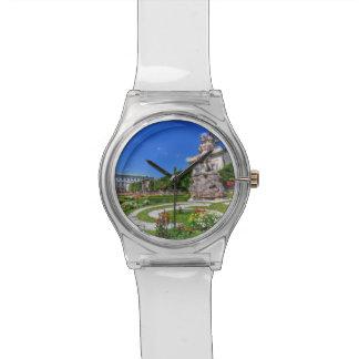Reloj De Pulsera Palacio y jardines, Salzburg, Austria de Mirabell