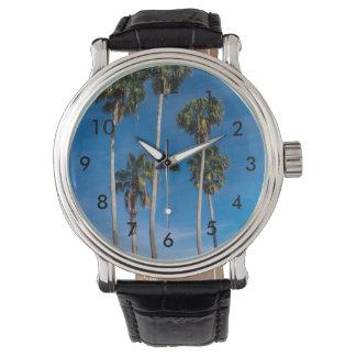 Reloj De Pulsera Palmas que curvan altas