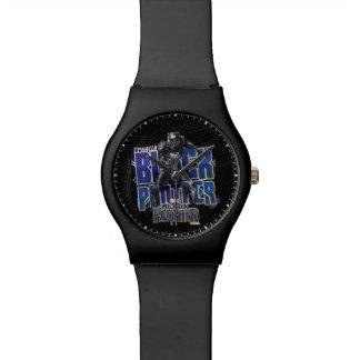 Reloj De Pulsera Pantera negra el | T'Challa - gráfico de la