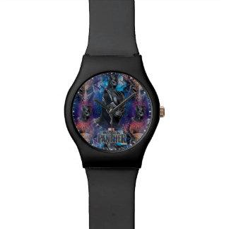Reloj De Pulsera Pantera negra negra de la pantera el | y modelo de