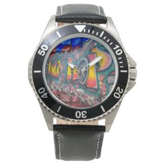 Reloj De Pulsera Pared de la etiqueta