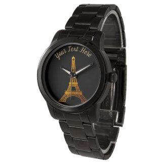 Reloj De Pulsera París: Viaje Eiffel del La