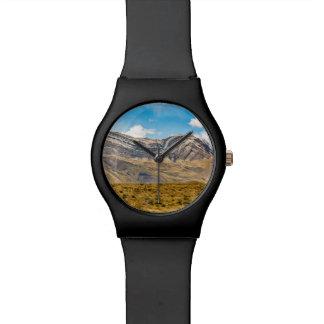 Reloj De Pulsera Patagonia la Argentina de las montañas Nevado los