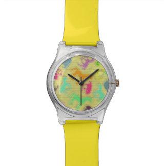 Reloj De Pulsera Pegue una actitud del unicornio